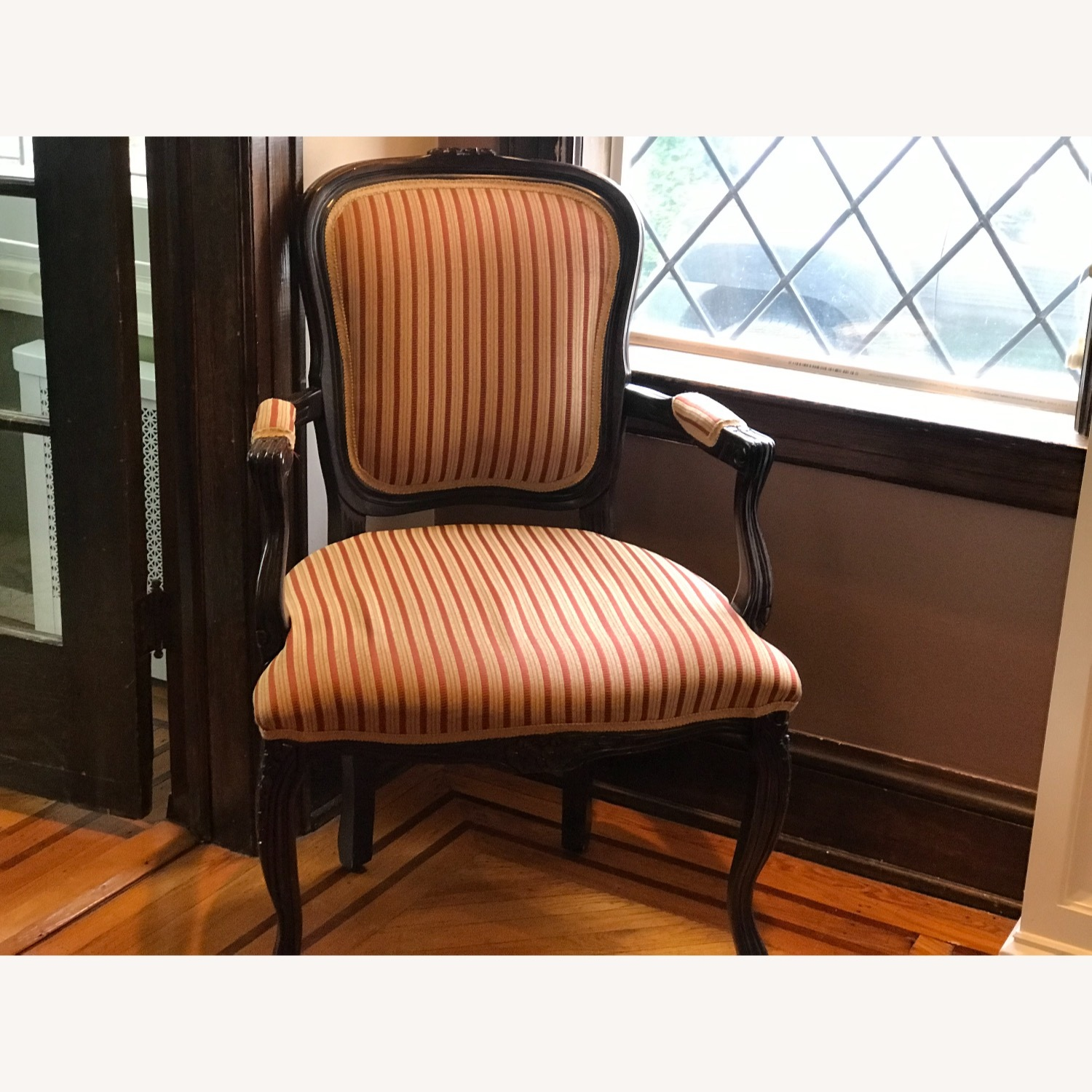 Raymour & Flanigan Striped Accent Chairs - image-2