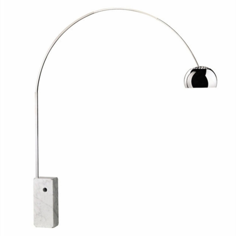 Modern In Designs Arco Floor Lamp (Marble base) - image-1