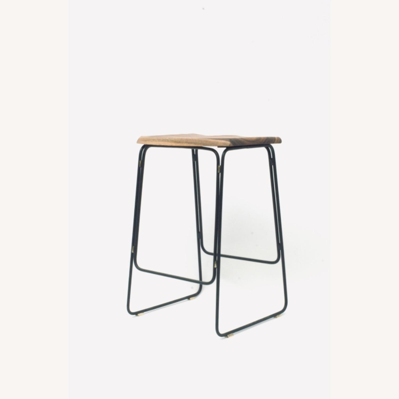 Organic Modernism Kitchen Counter Stool - image-1