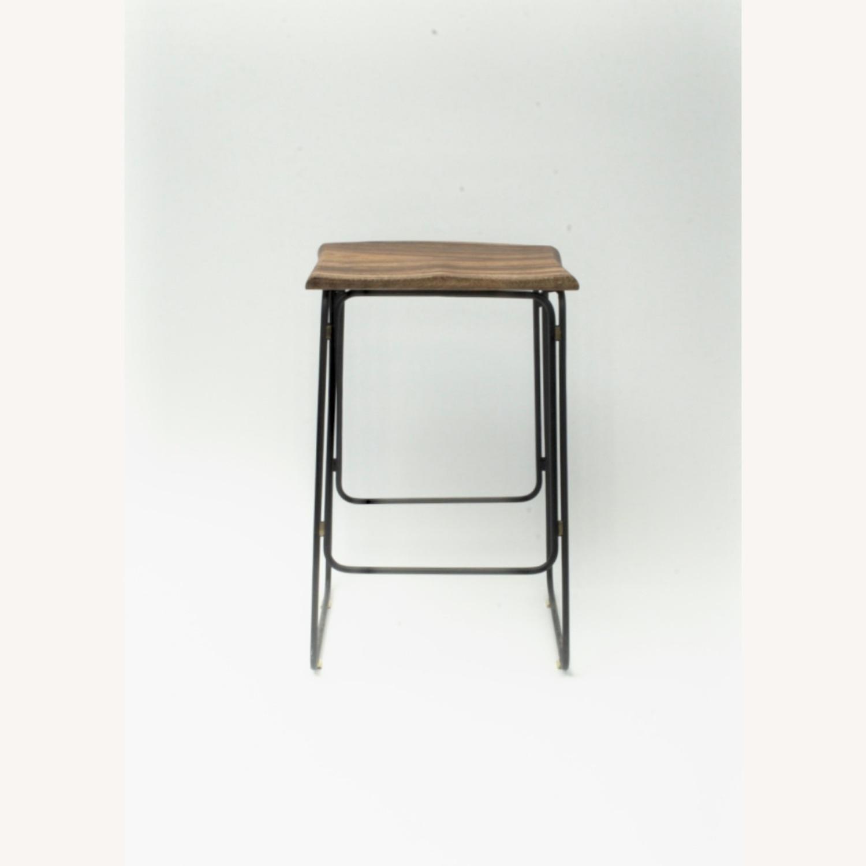 Organic Modernism Kitchen Counter Stool - image-2