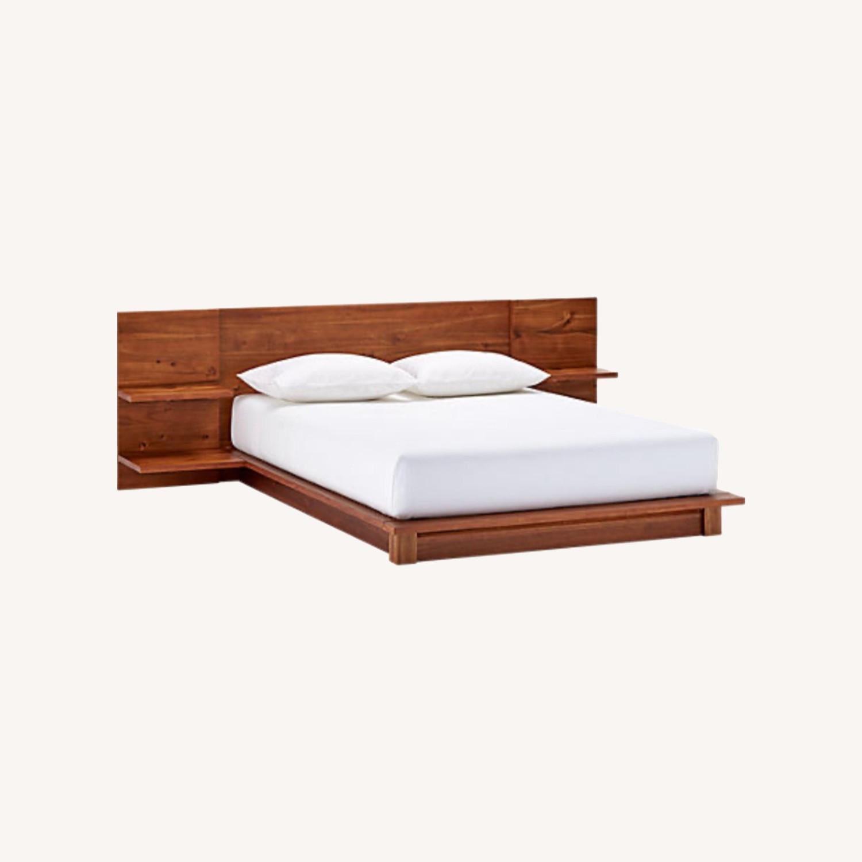 CB2 Rustic Queen Bed - image-0