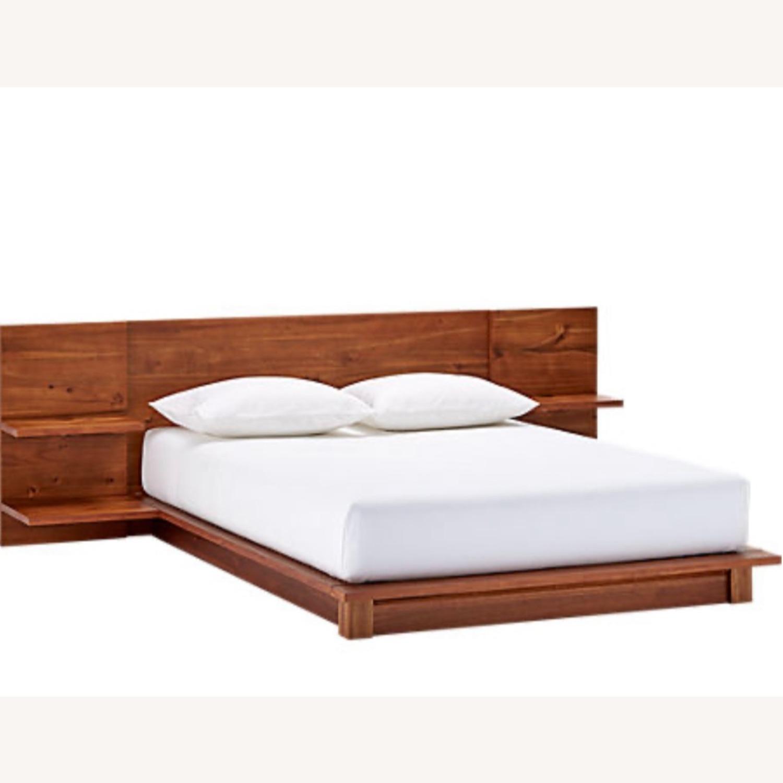 CB2 Rustic Queen Bed - image-1