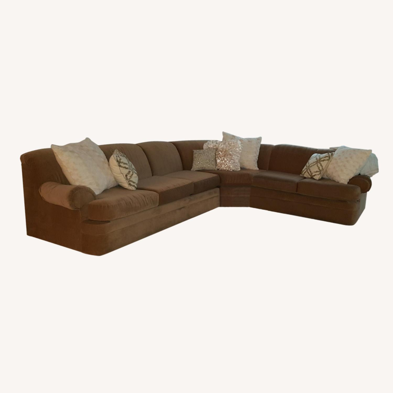 Sectional Sofa with Pullout Queen Bed - image-0
