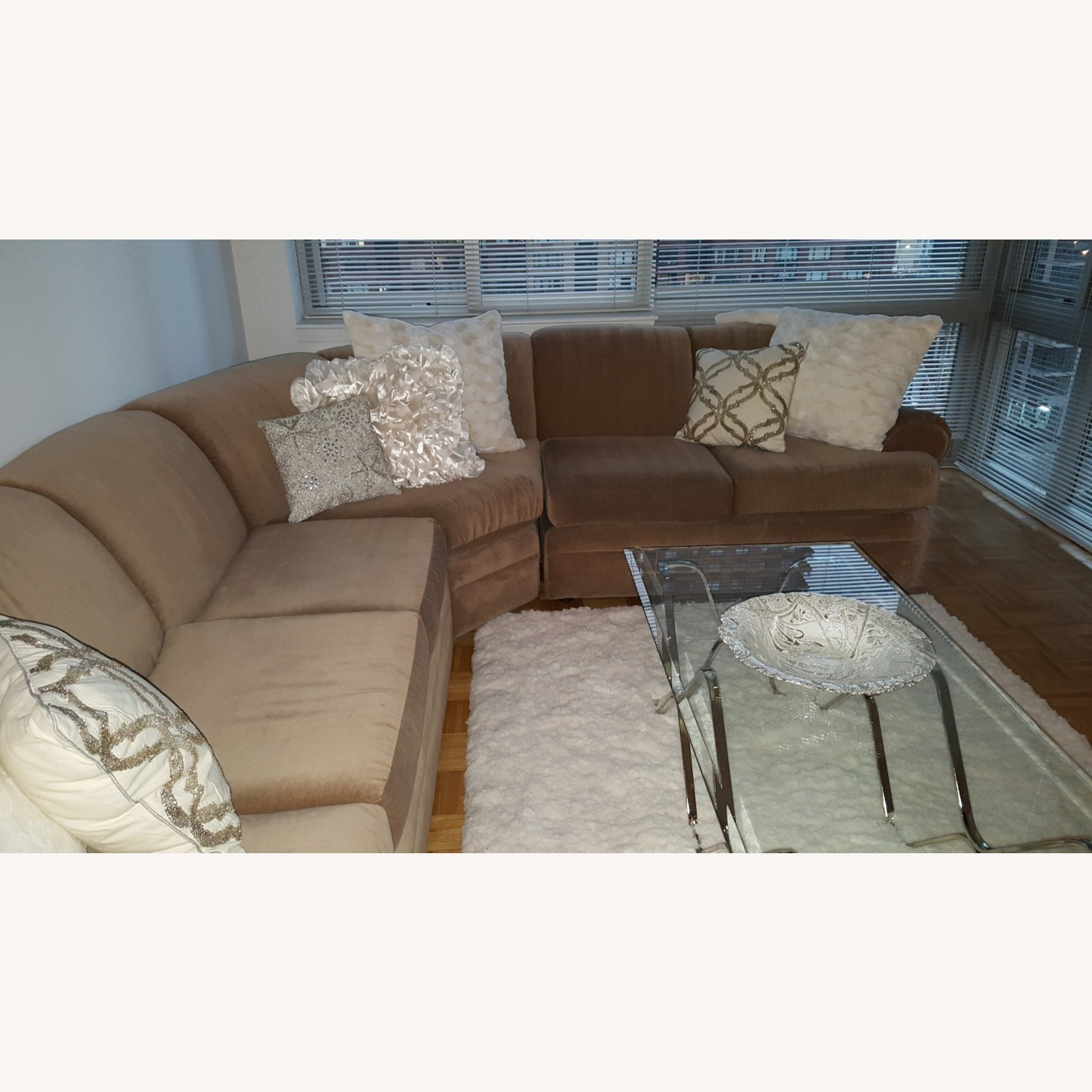 Sectional Sofa with Pullout Queen Bed - image-2