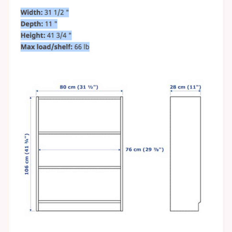 IKEA Billy Bookcase Birch Veneer - image-2