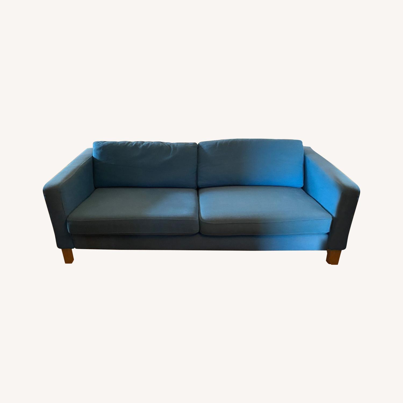 IKEA Blue Karlstaad Sofa - image-0