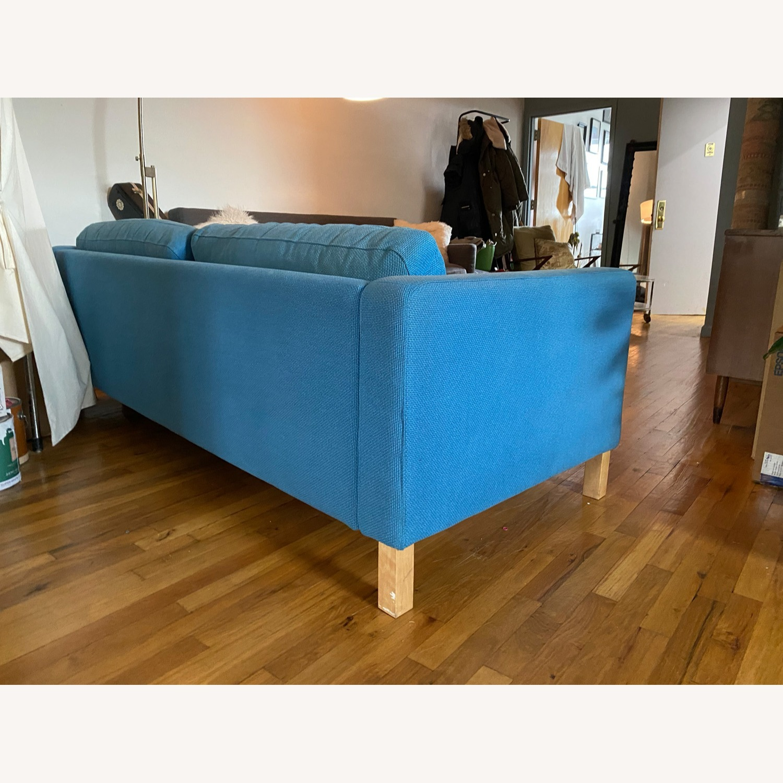 IKEA Blue Karlstaad Sofa - image-3