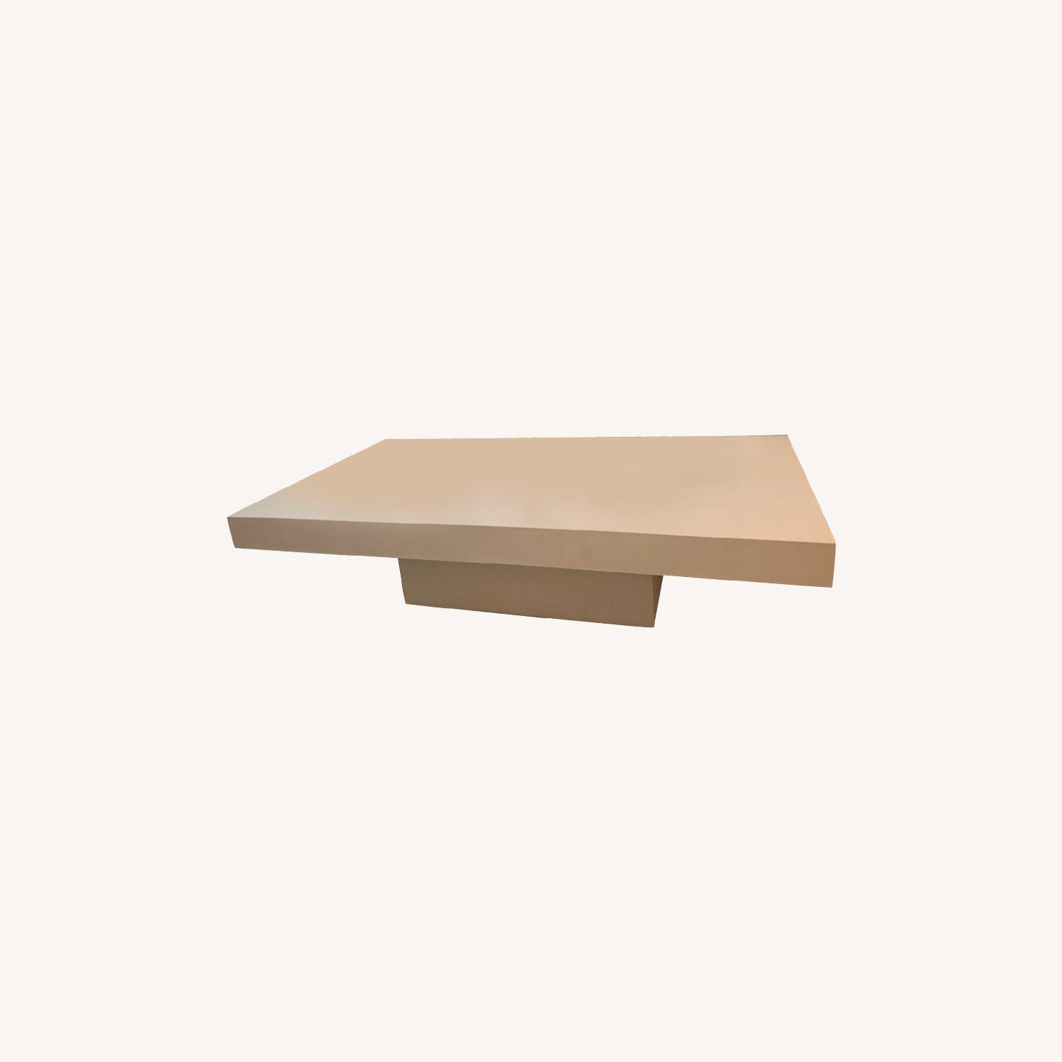 CB2 Element Ivory Coffee Table - image-0