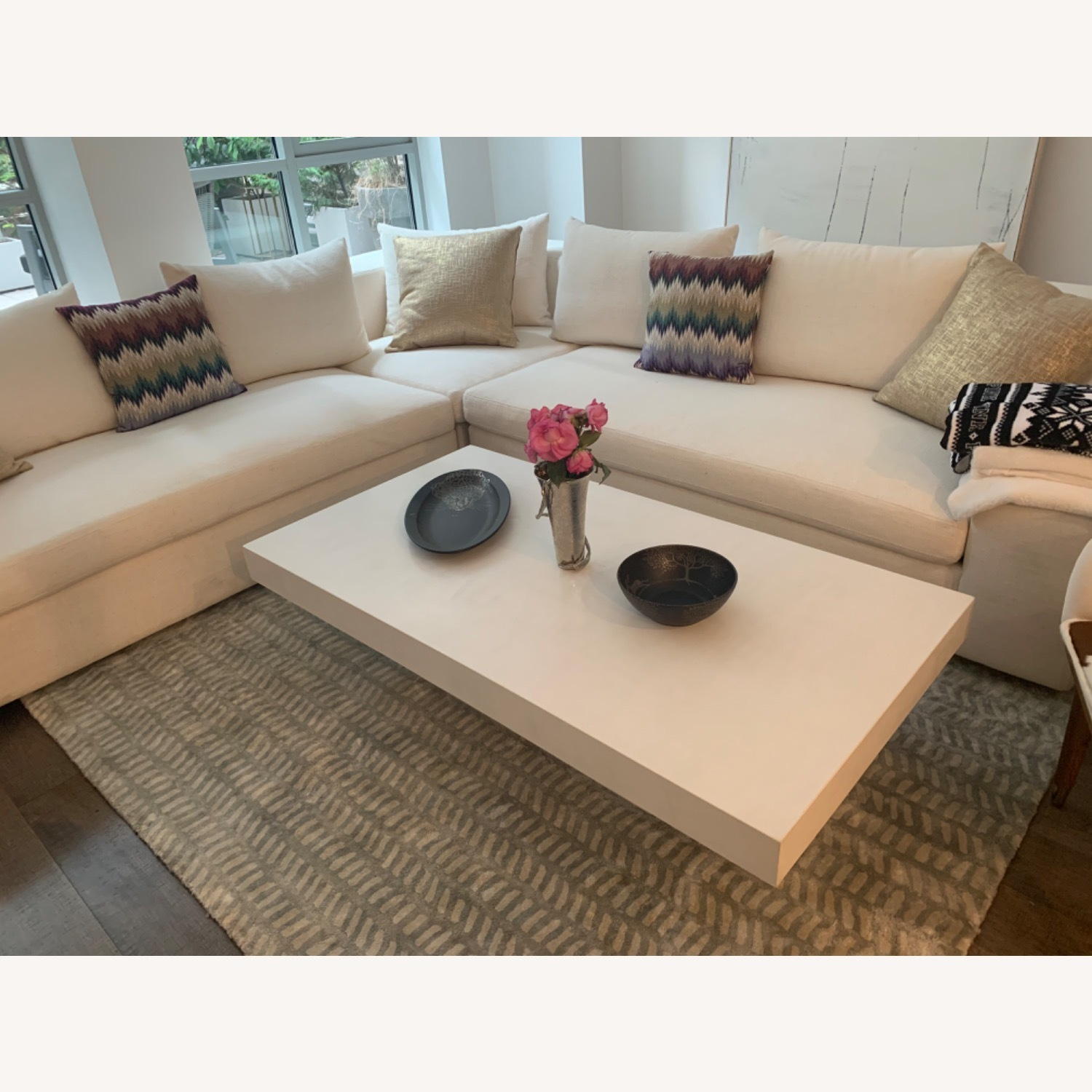 CB2 Element Ivory Coffee Table - image-4