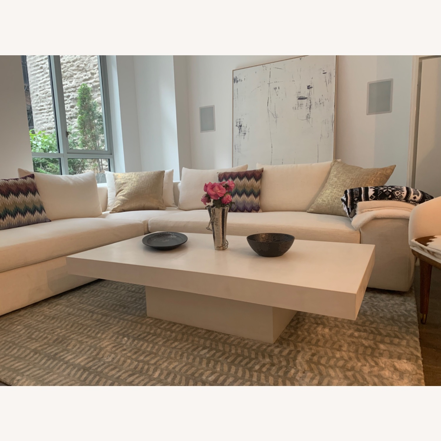 CB2 Element Ivory Coffee Table - image-3