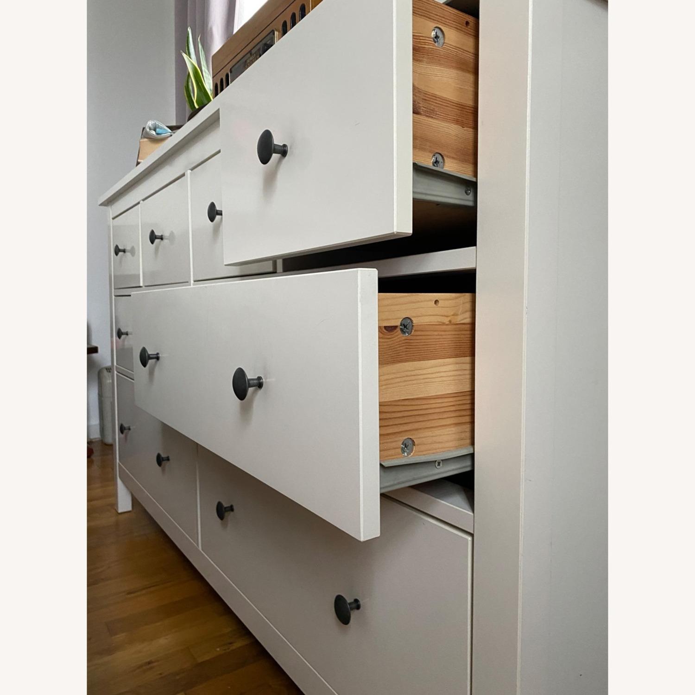 IKEA Hemnes Dresser- White - image-3