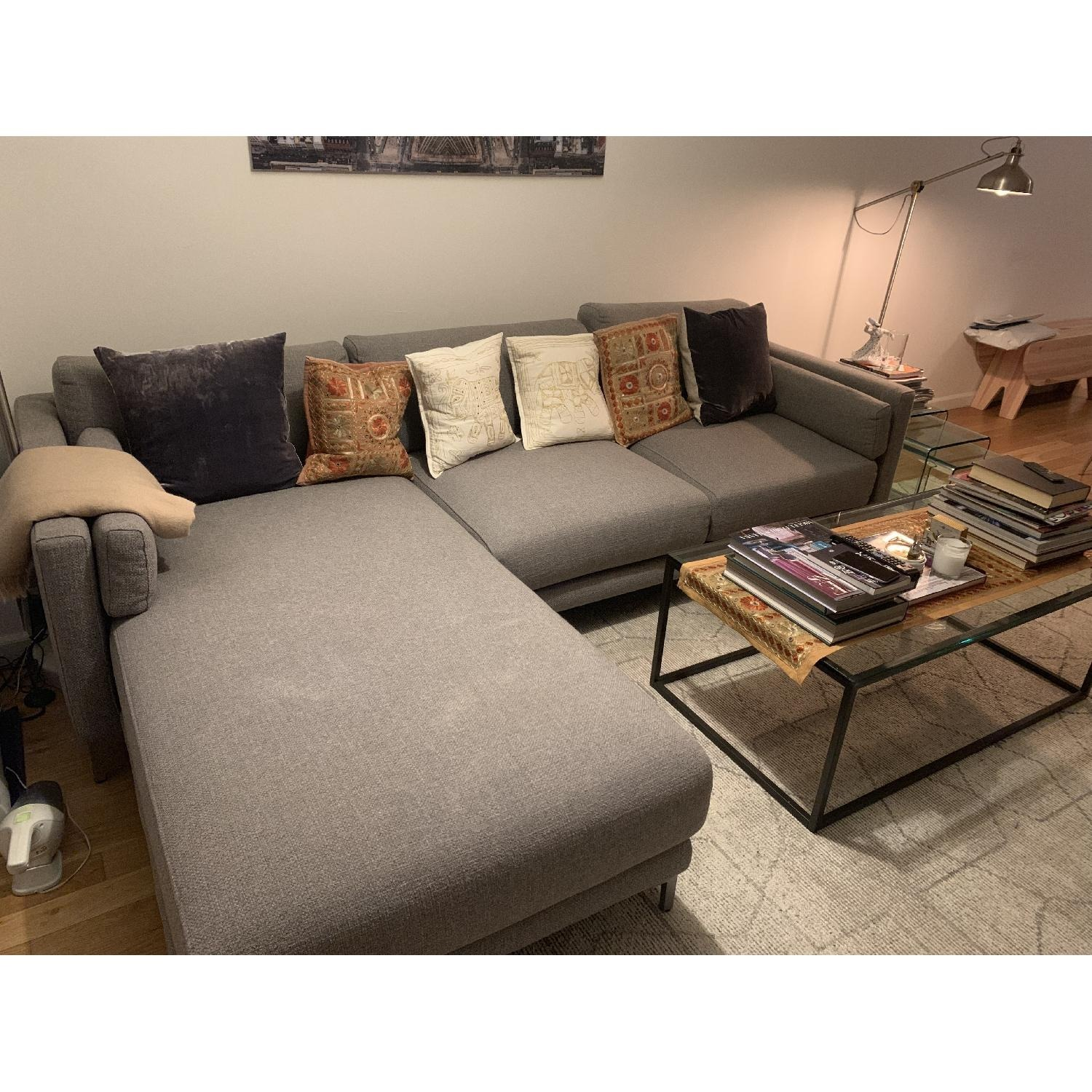 CB2 District 2-Piece Sectional Sofa - image-3