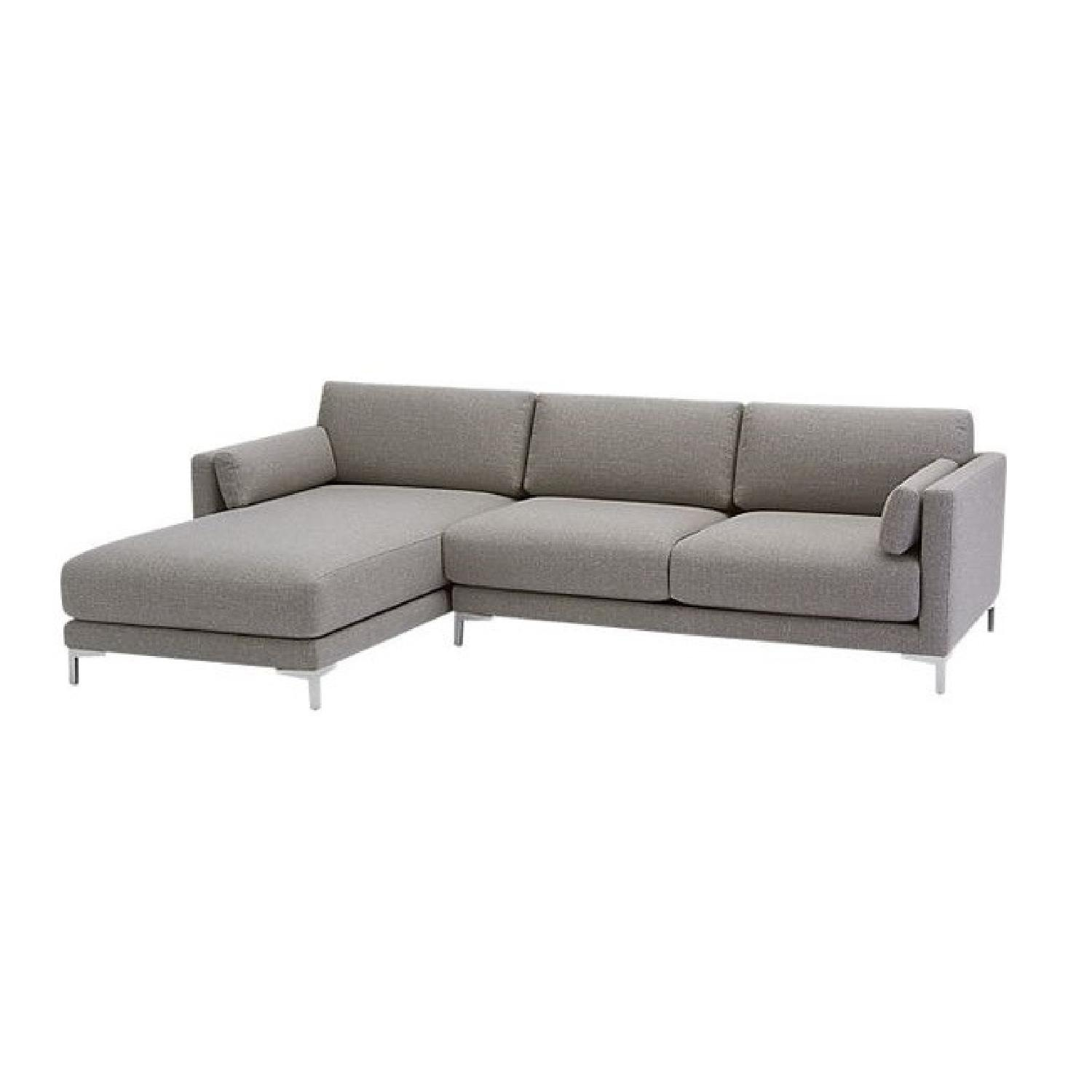 CB2 District 2-Piece Sectional Sofa - image-1