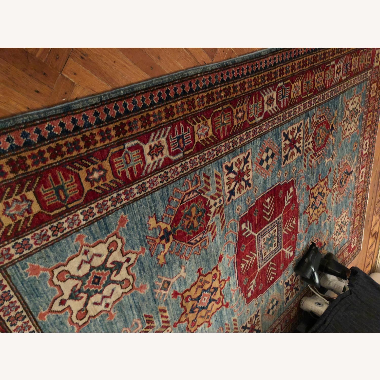 Vintage Multi Color Afghan Rug - image-2