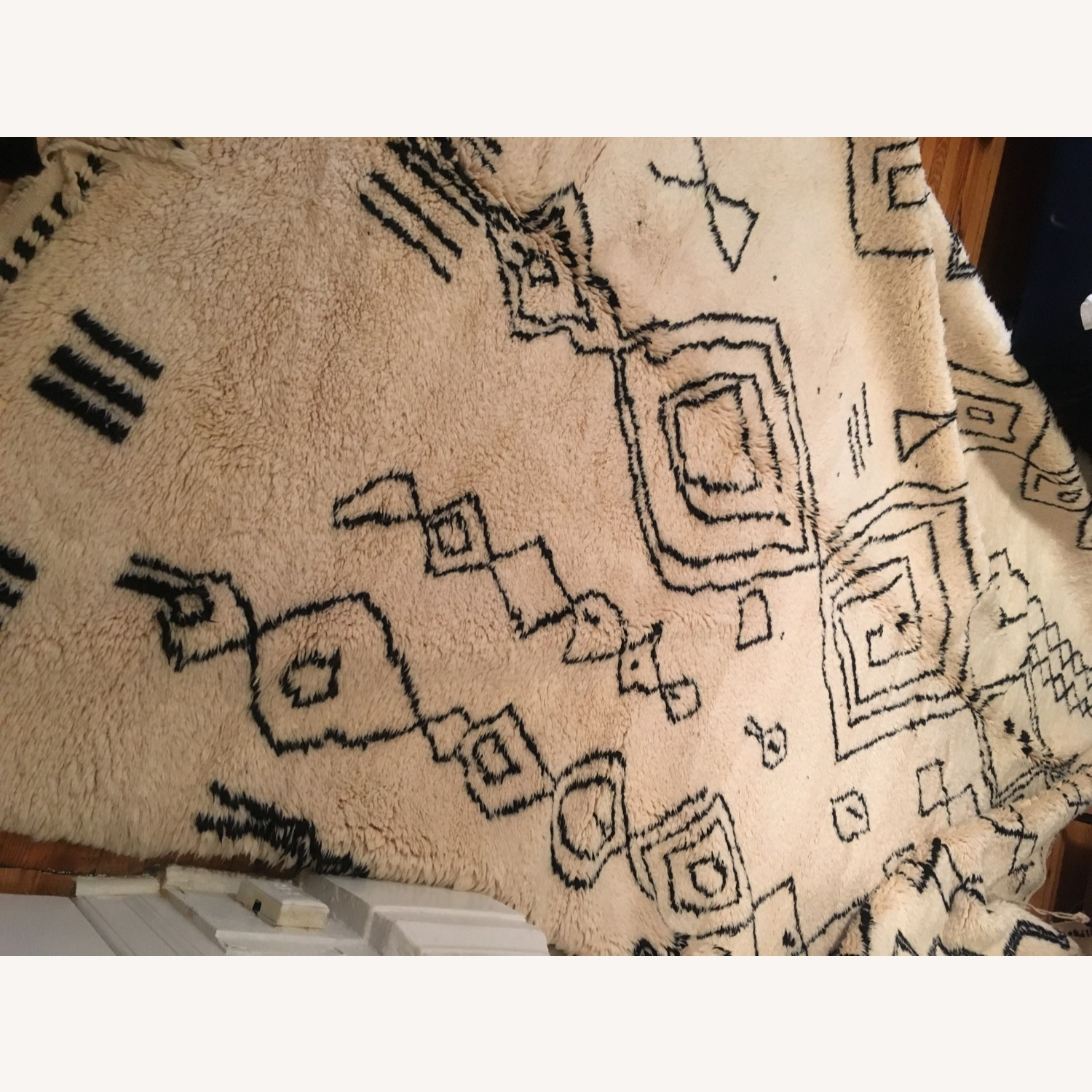Authentic Large Wool Moroccan Rug - image-4