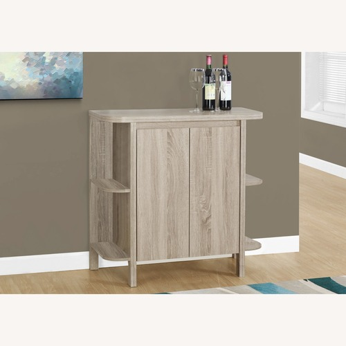 Used Home Bar with Bottle & Glass Storage for sale on AptDeco