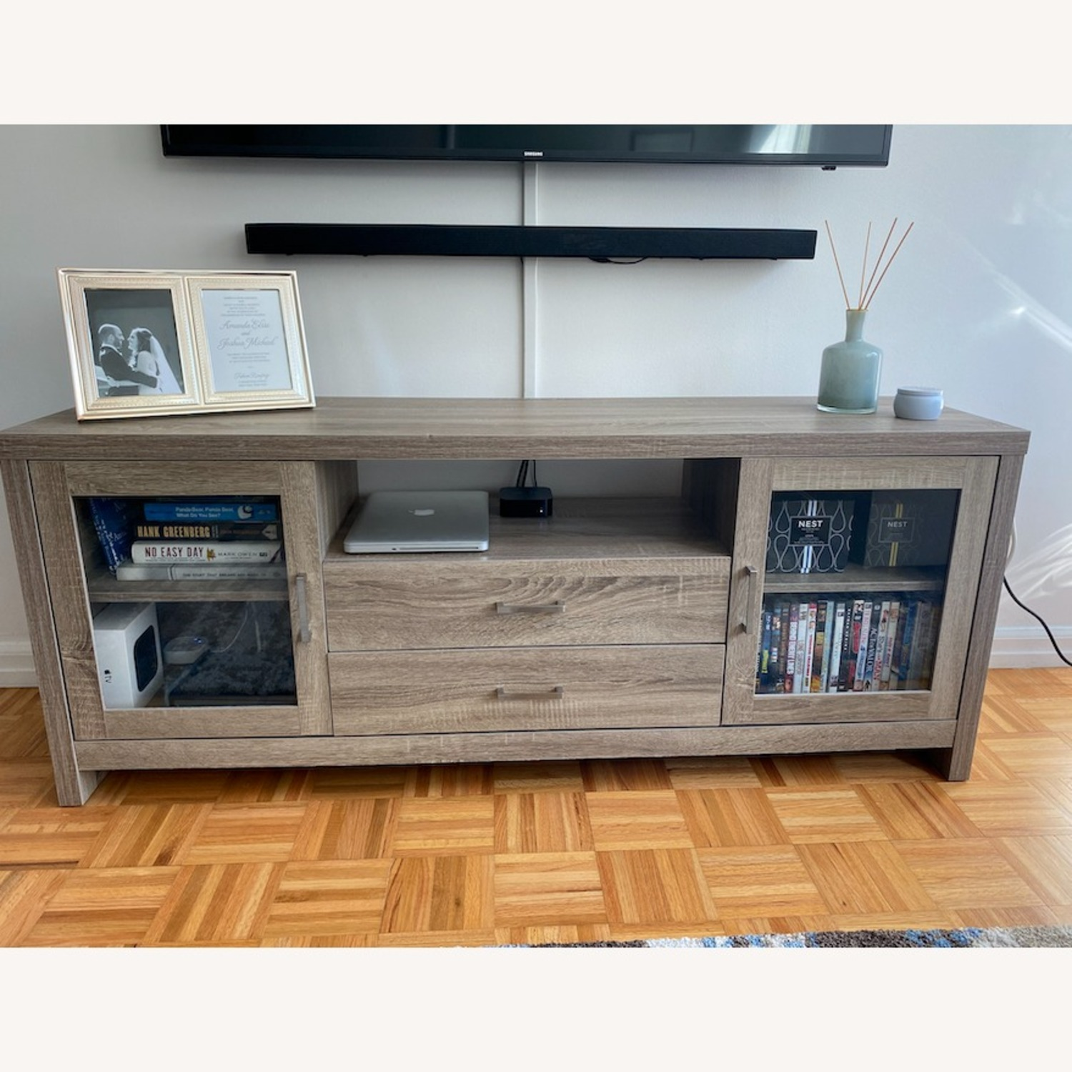 TV Stand with Storage - image-1