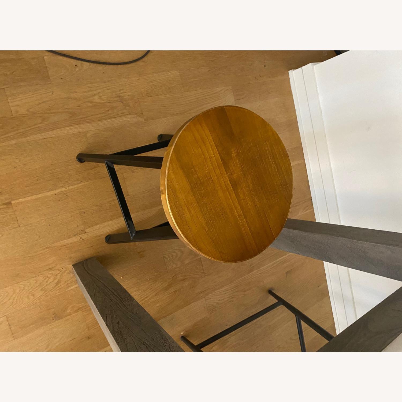 Wood/metal Adjustable Bar Stools - image-5