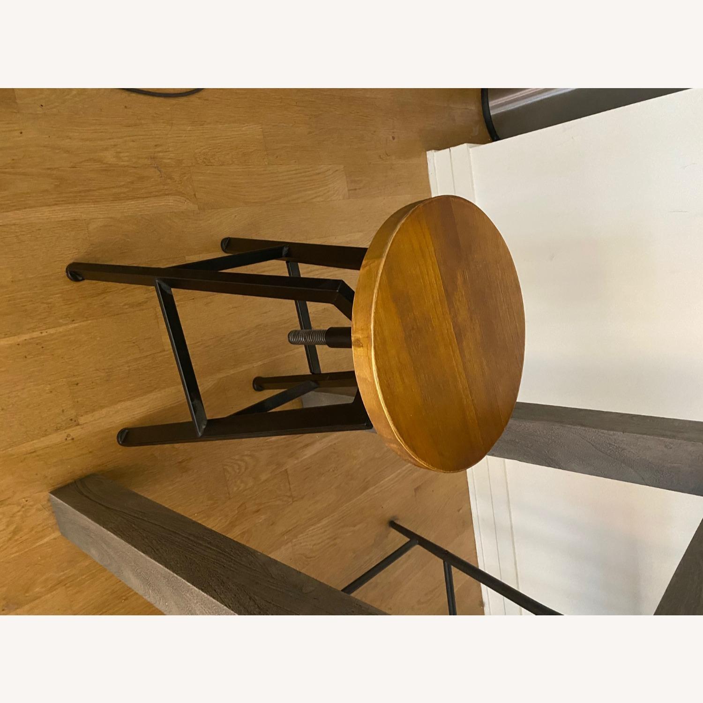 Wood/metal Adjustable Bar Stools - image-6