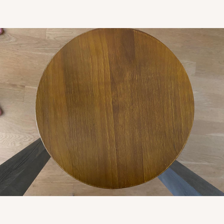 Wood/metal Adjustable Bar Stools - image-8