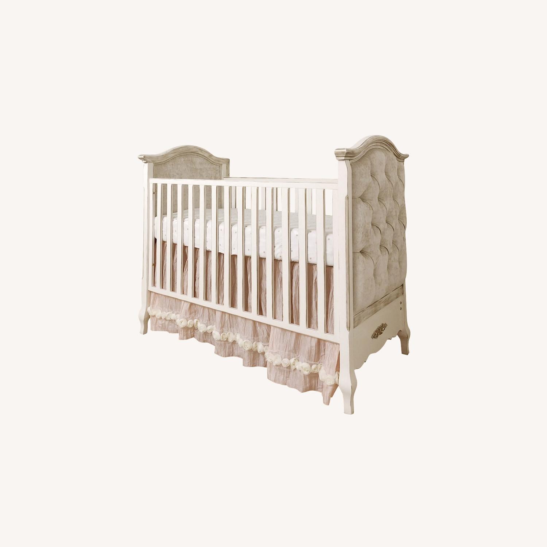 Girls Designer Crib - image-0