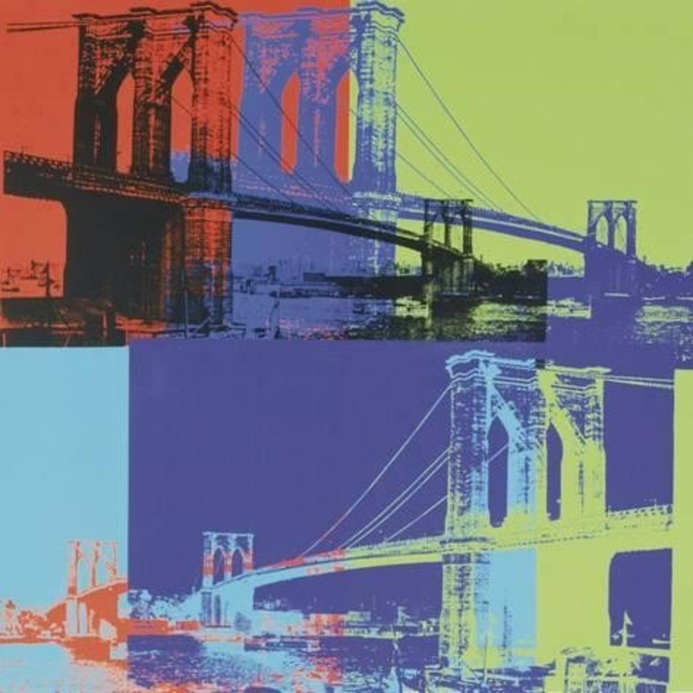 Andy Warhol Brooklyn Bridge Framed Print - image-3