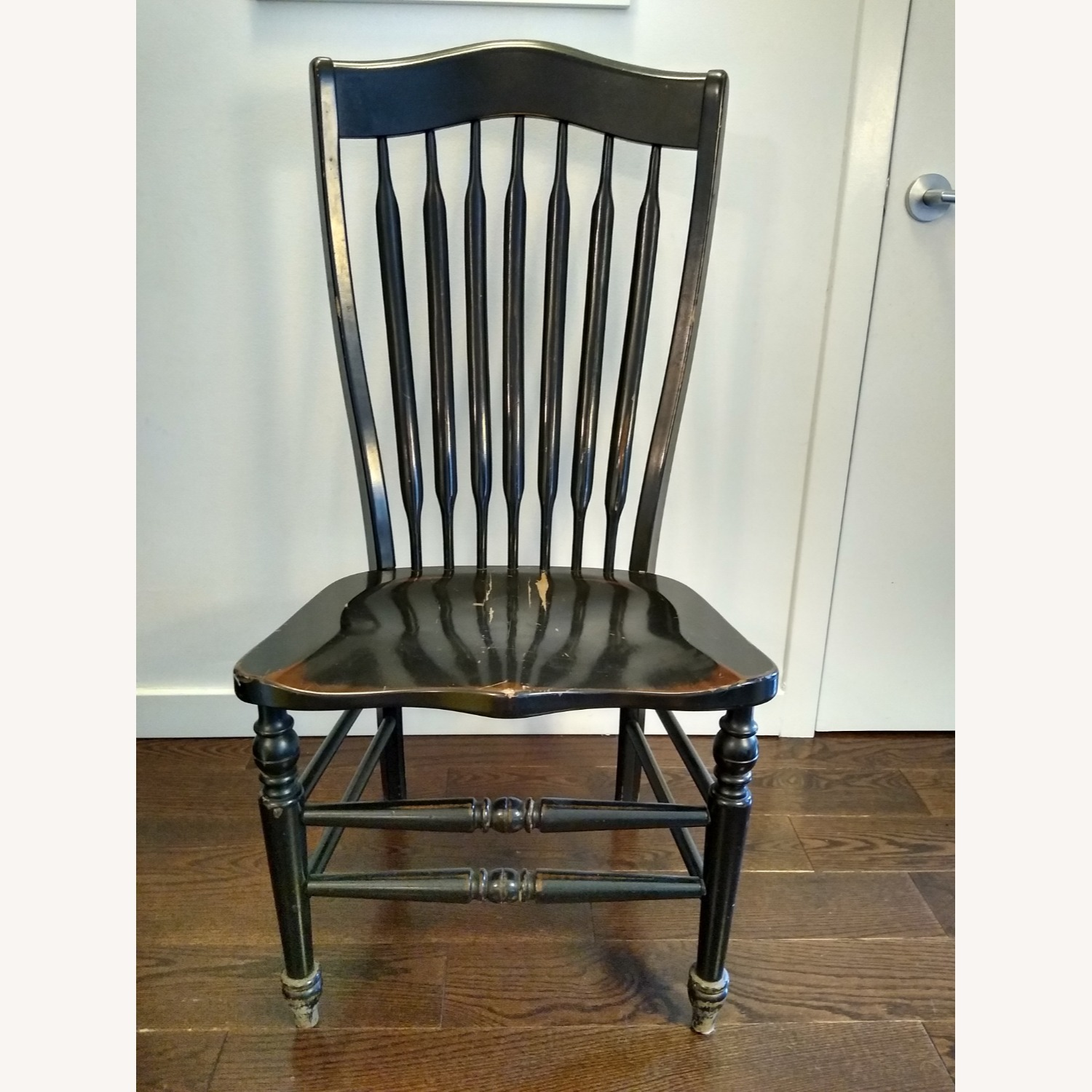 Five Vintage Nichols & Stone Windsor Chairs - image-10