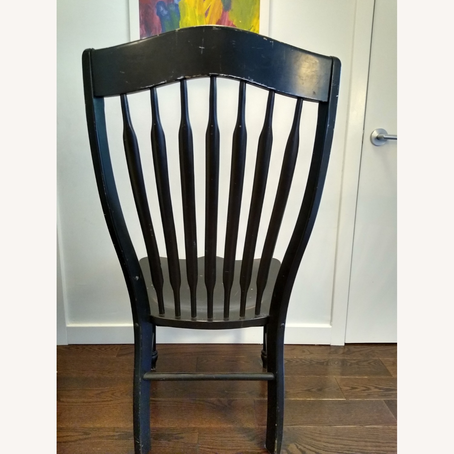 Five Vintage Nichols & Stone Windsor Chairs - image-3