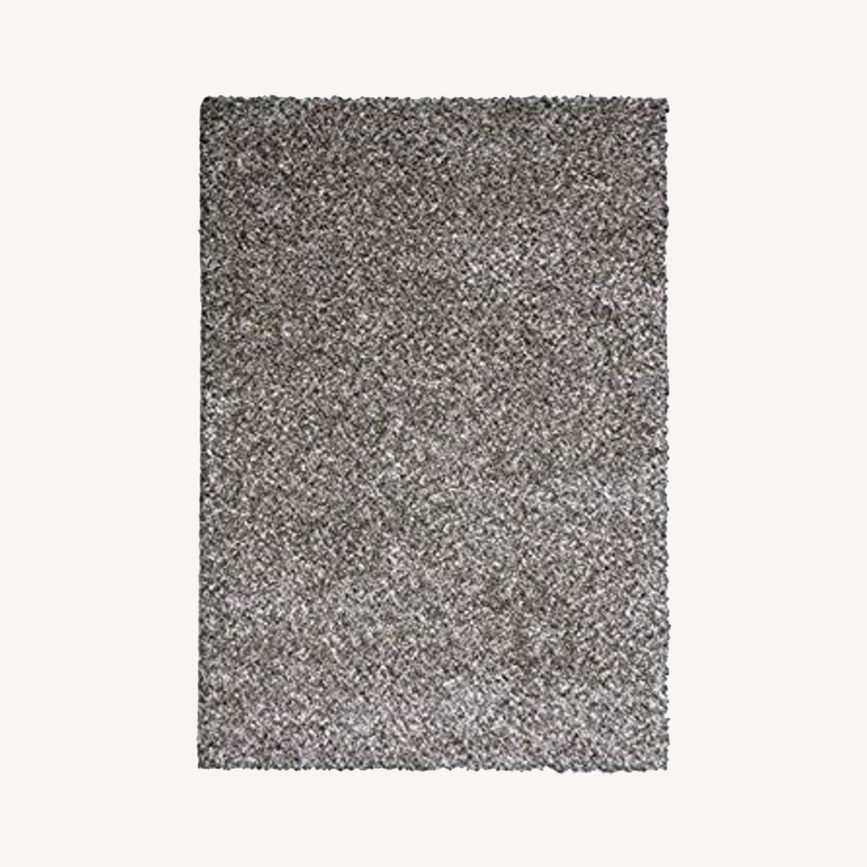 Grey Shag Area Rug - image-0
