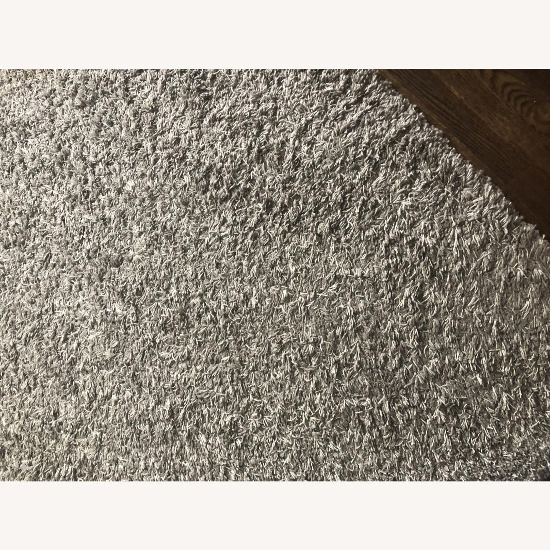 Grey Shag Area Rug - image-4
