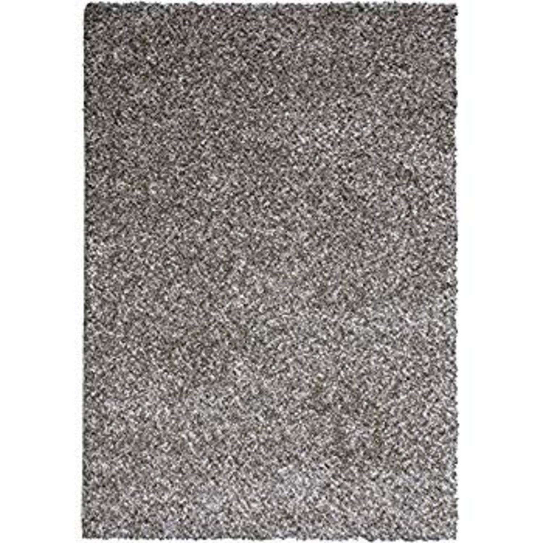 Grey Shag Area Rug - image-1