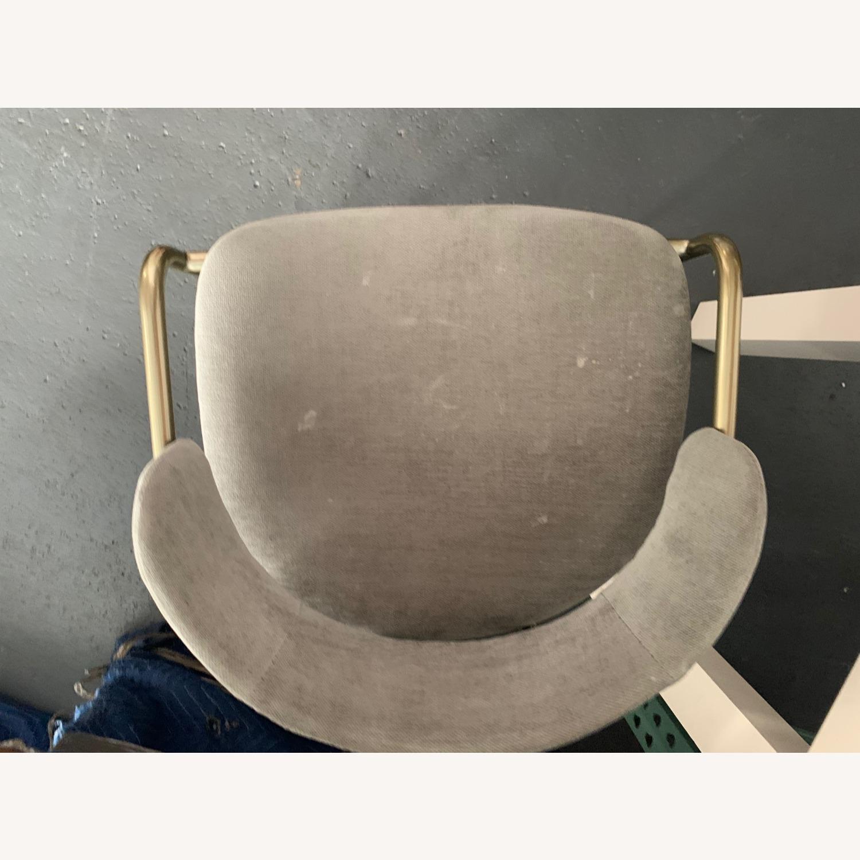 West Elm Lenox Upholstered Counter Stool - image-5