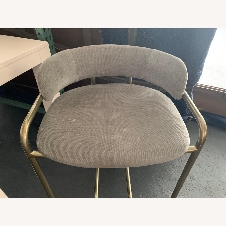 West Elm Lenox Upholstered Counter Stool - image-4