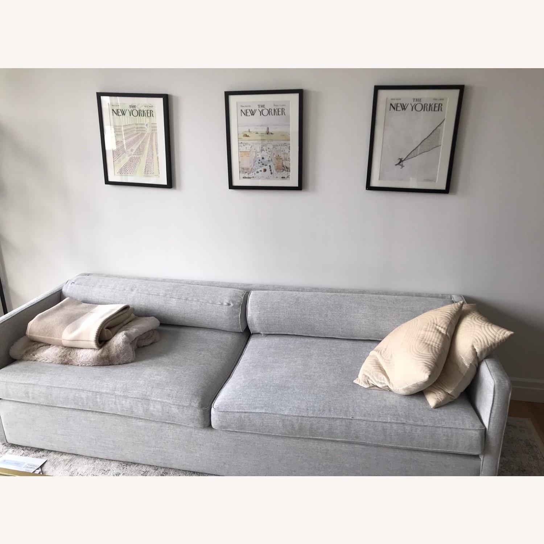 CB2 Cassidy 3-seater Grey Sofa - image-3