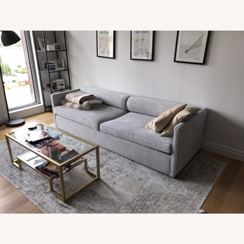 CB2 Cassidy 3-seater Grey Sofa - image-2
