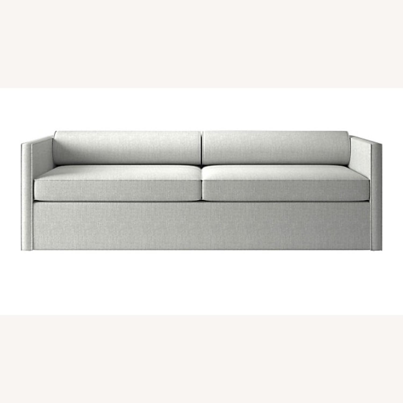 CB2 Cassidy 3-seater Grey Sofa - image-1