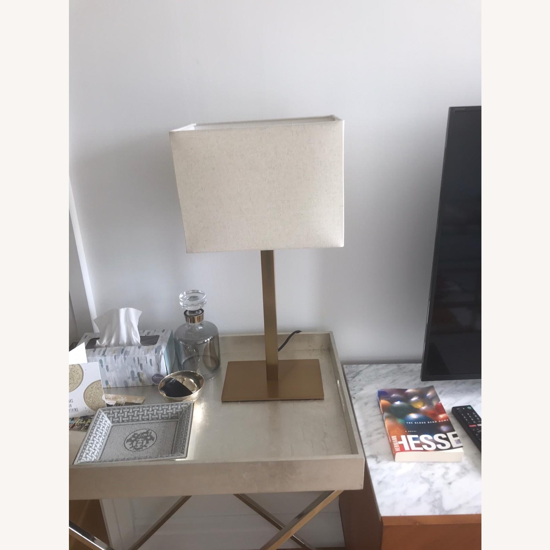 CB2 Joh Bronze Table Lamp - Set of 2 - image-2