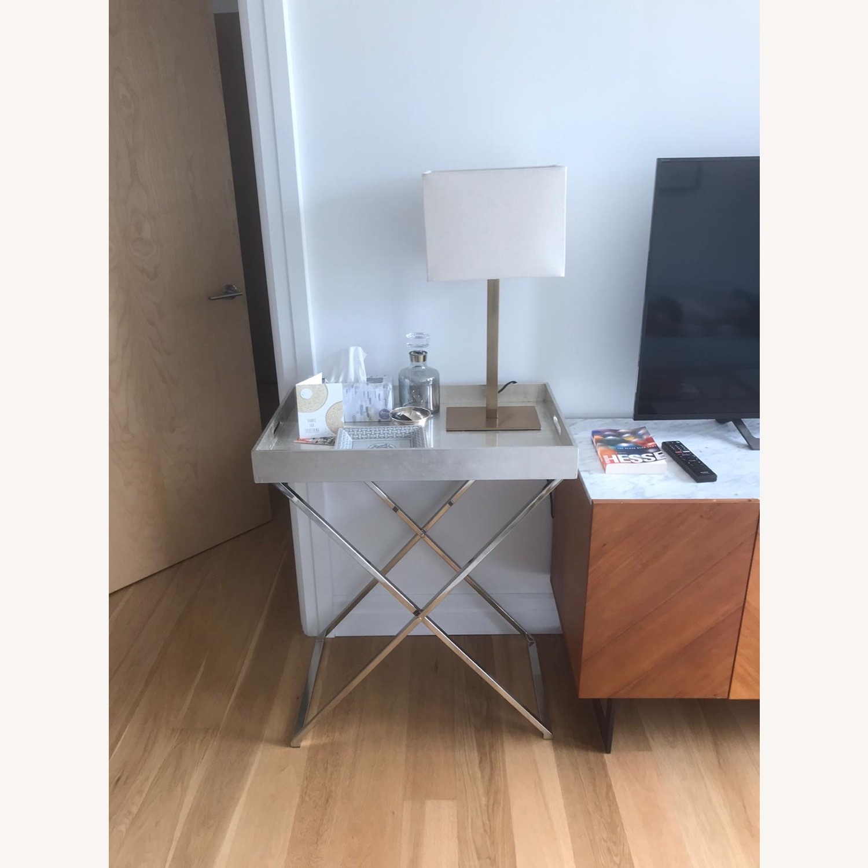 CB2 Joh Bronze Table Lamp - Set of 2 - image-1