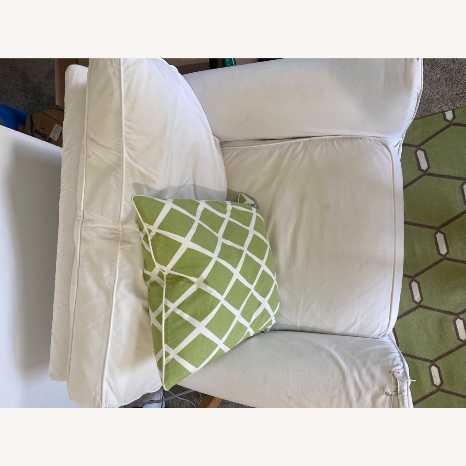 2 Crate & Barrel Chairs - image-3