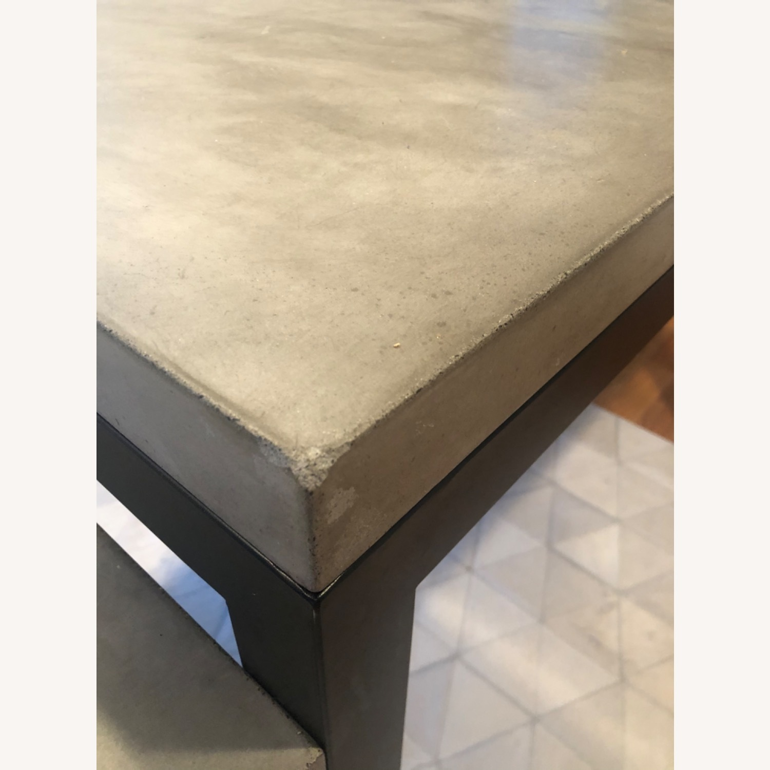 Crate & Barrel Concrete High Dining Table - image-3