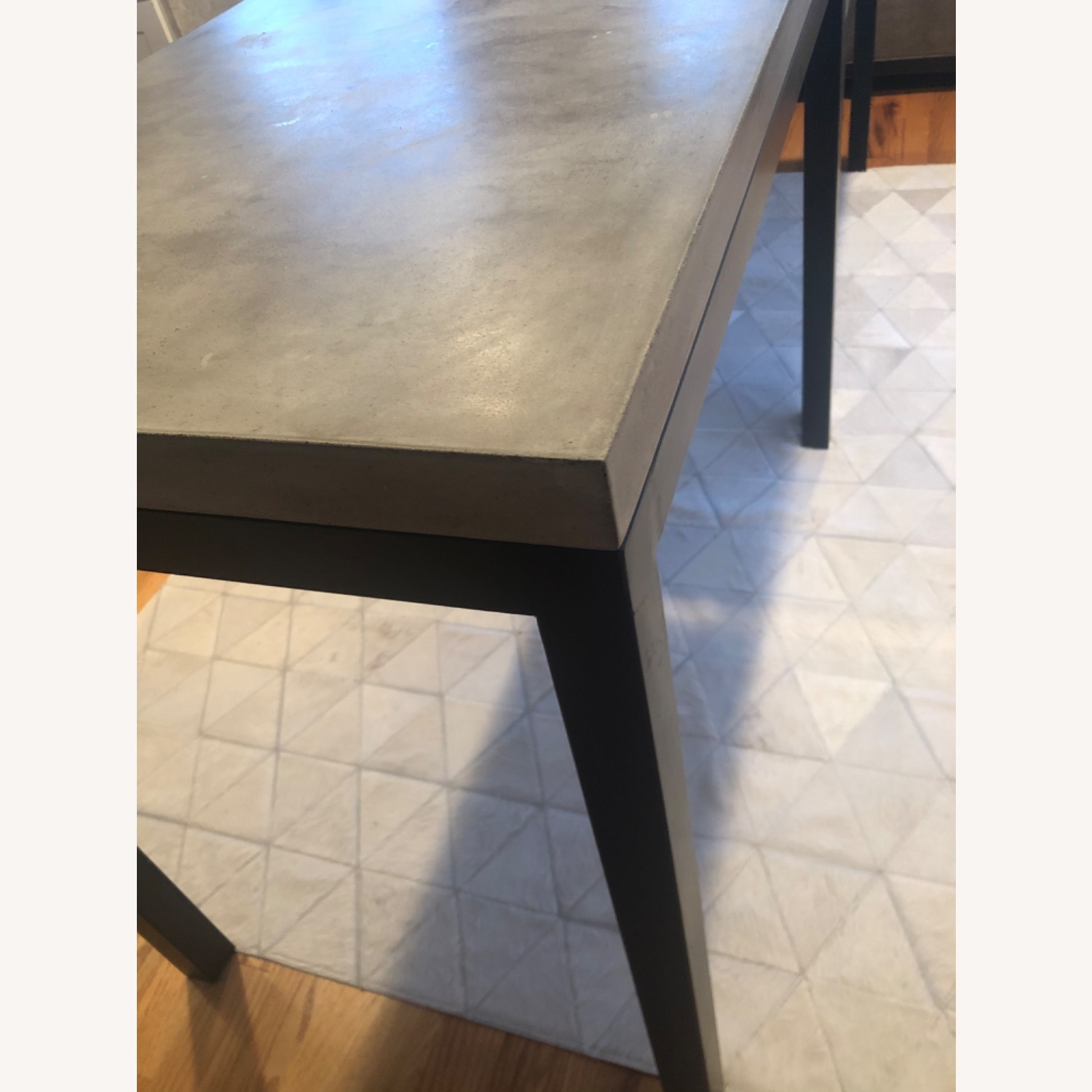 Crate & Barrel Concrete High Dining Table - image-7