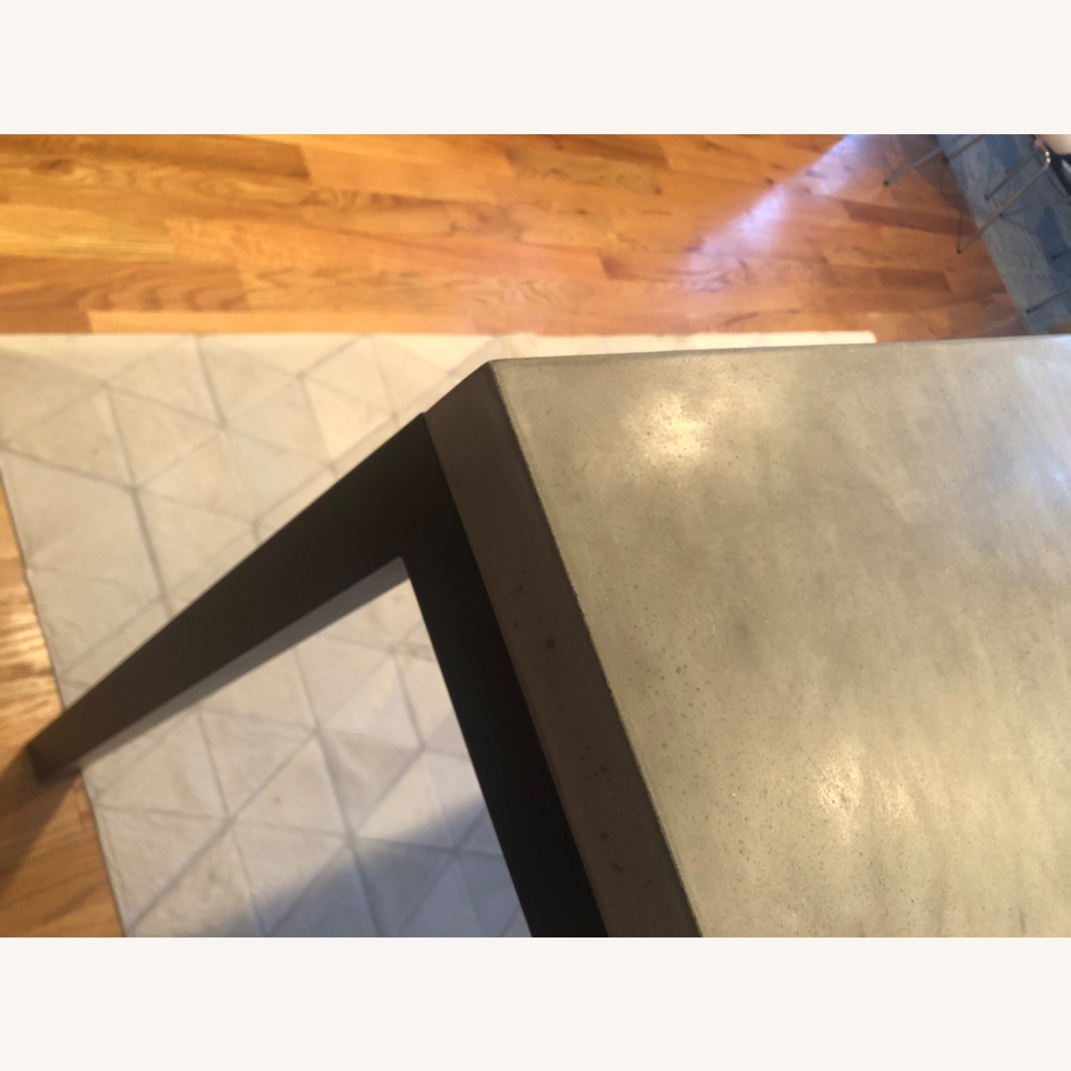 Crate & Barrel Concrete High Dining Table - image-14