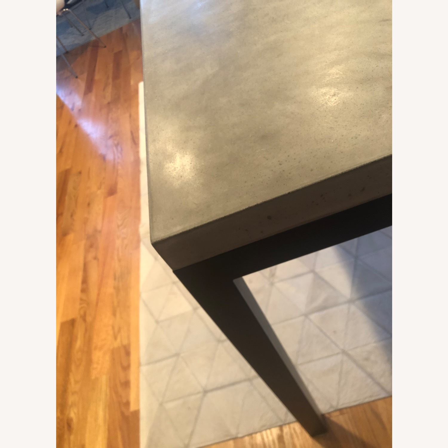 Crate & Barrel Concrete High Dining Table - image-6
