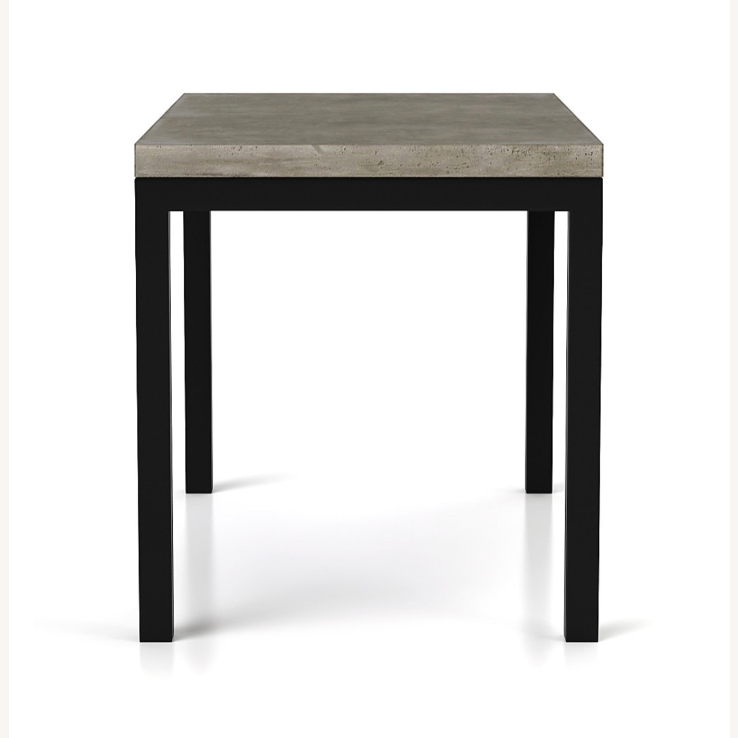 Crate & Barrel Concrete High Dining Table - image-17