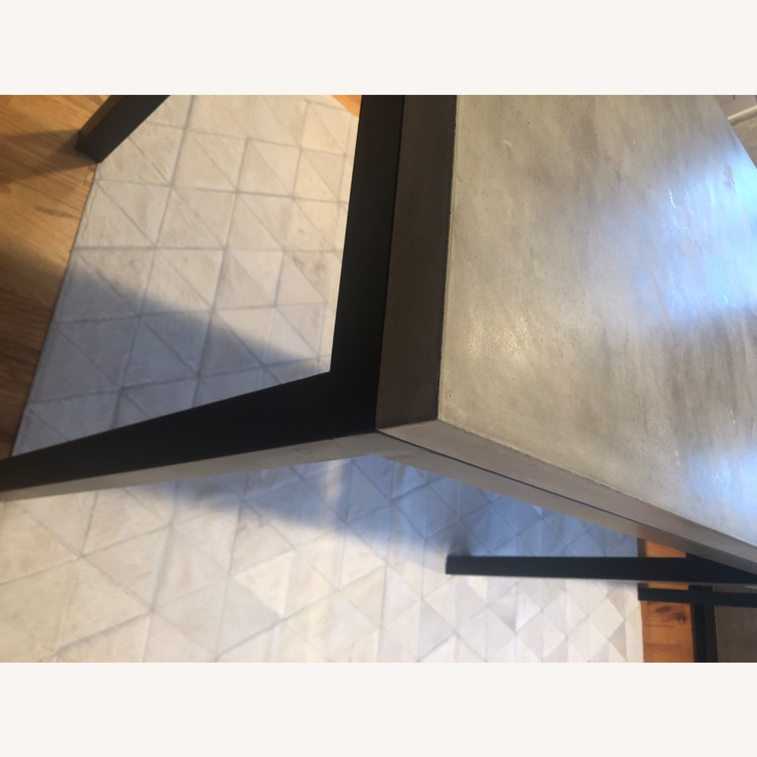 Crate & Barrel Concrete High Dining Table - image-15