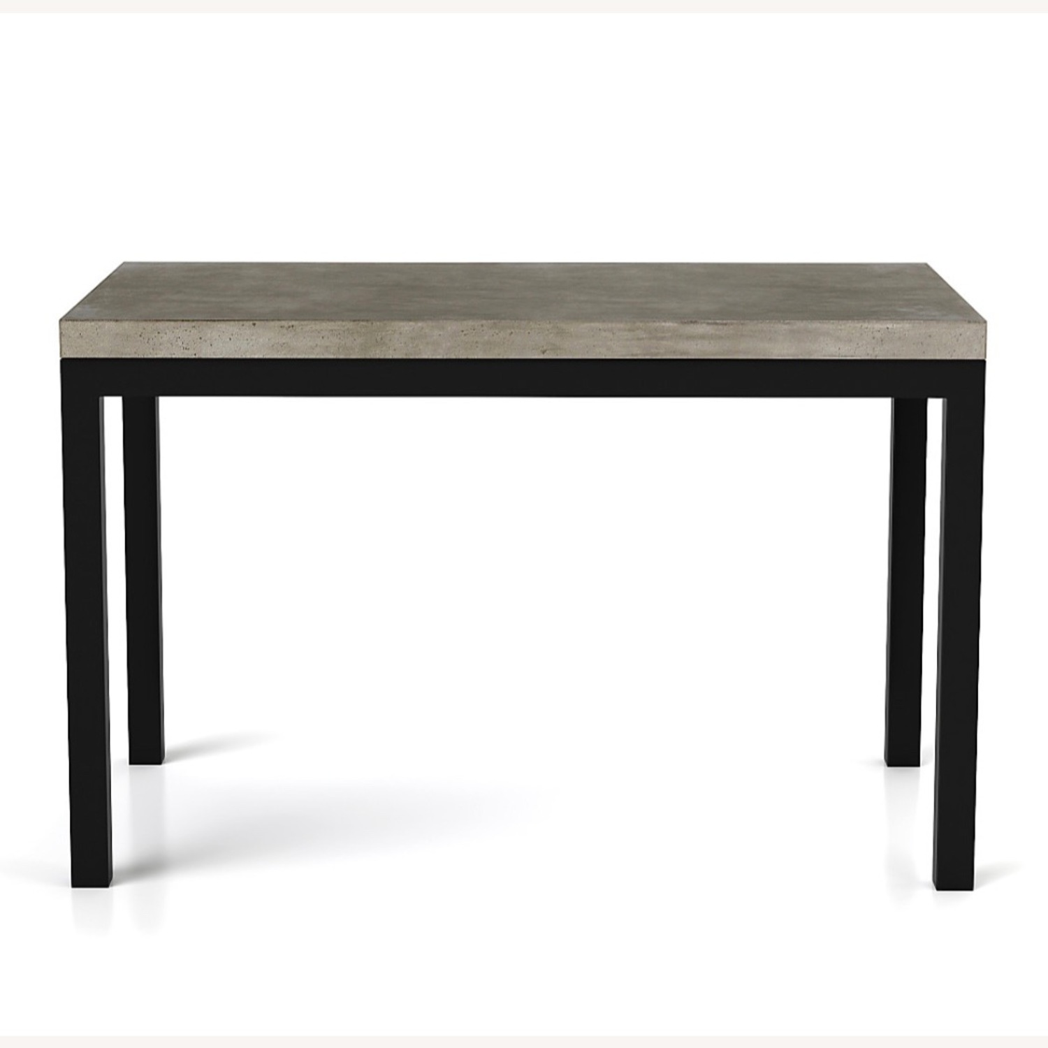 Crate & Barrel Concrete High Dining Table - image-18