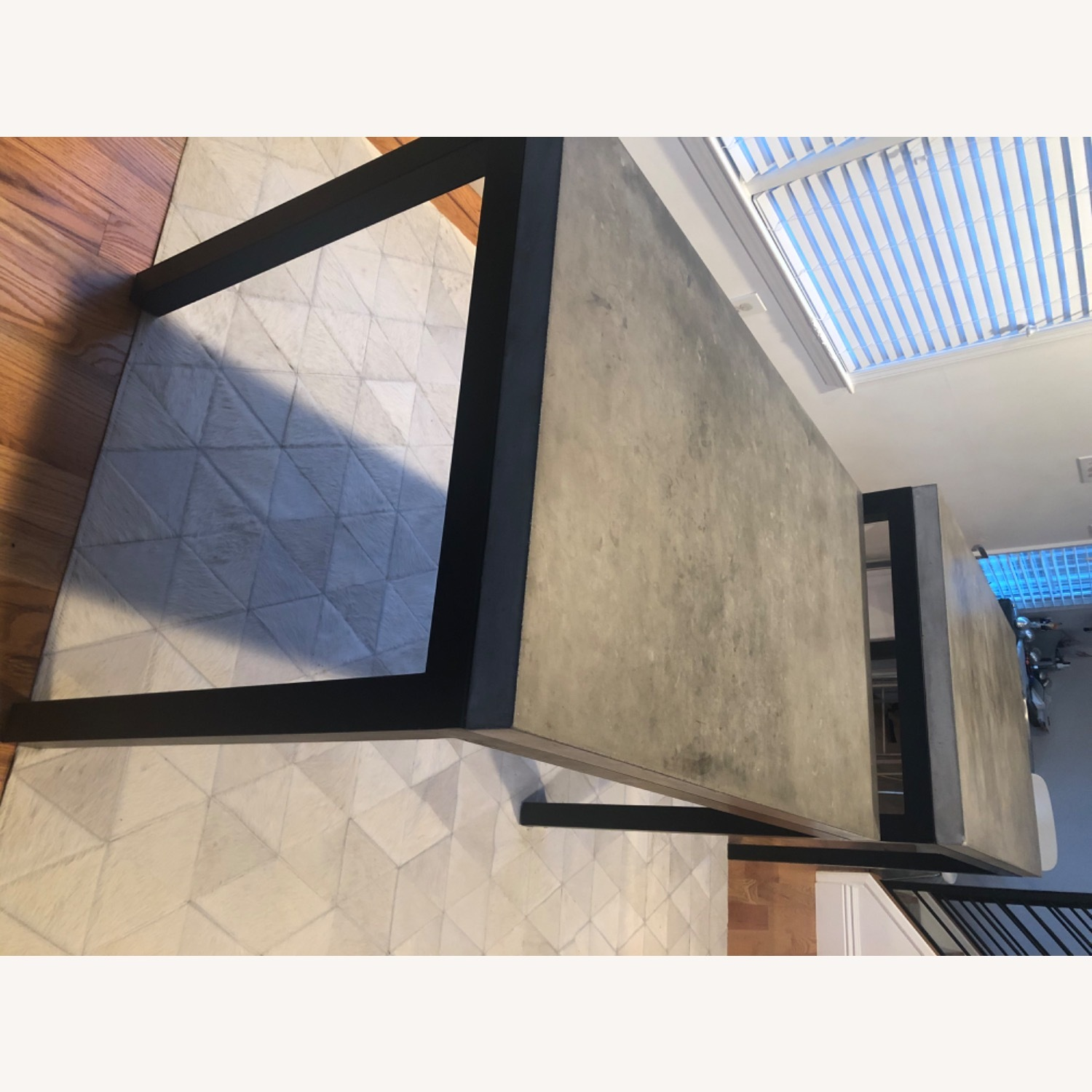 Crate & Barrel 2 Concrete Dining Tables - image-10
