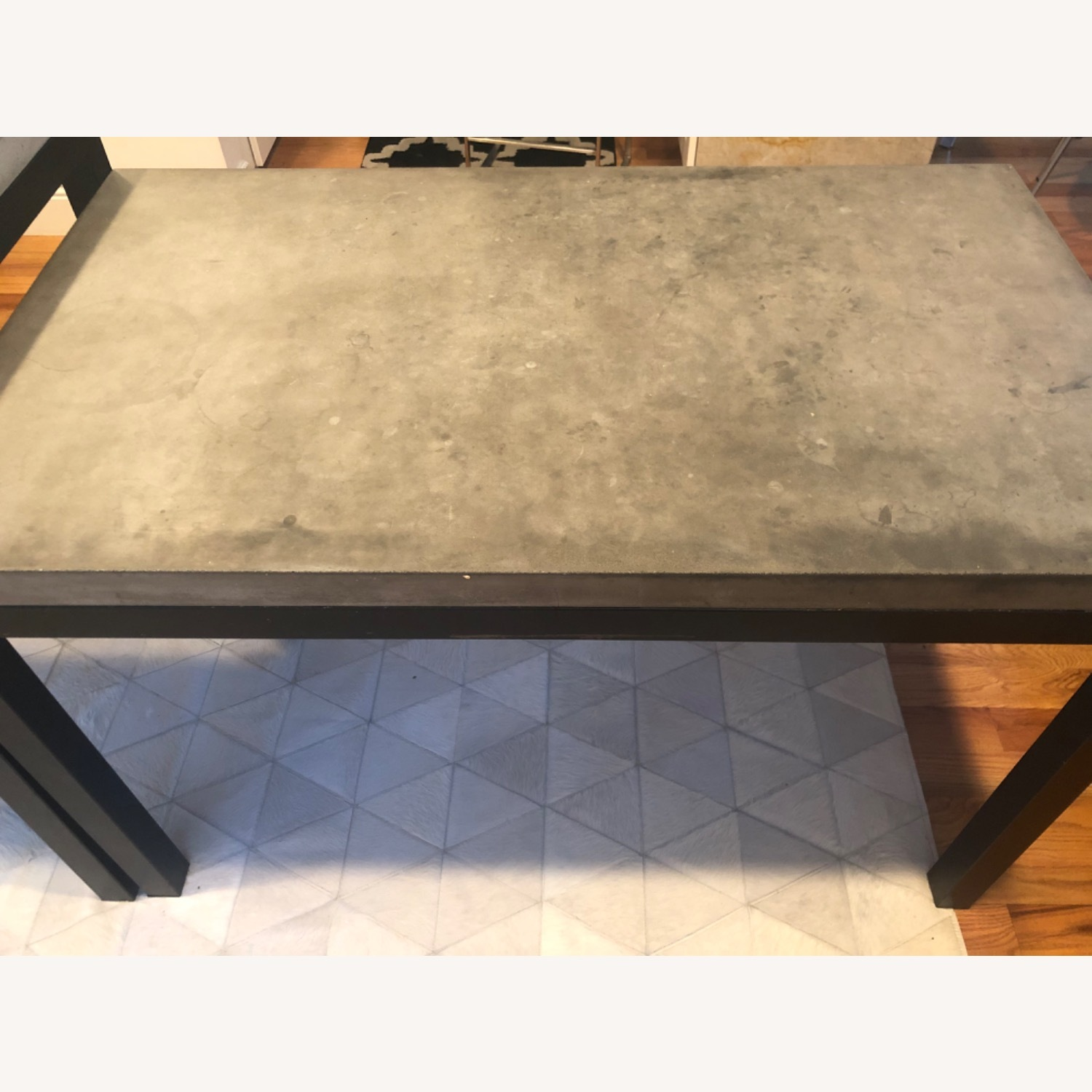 Crate & Barrel 2 Concrete Dining Tables - image-9