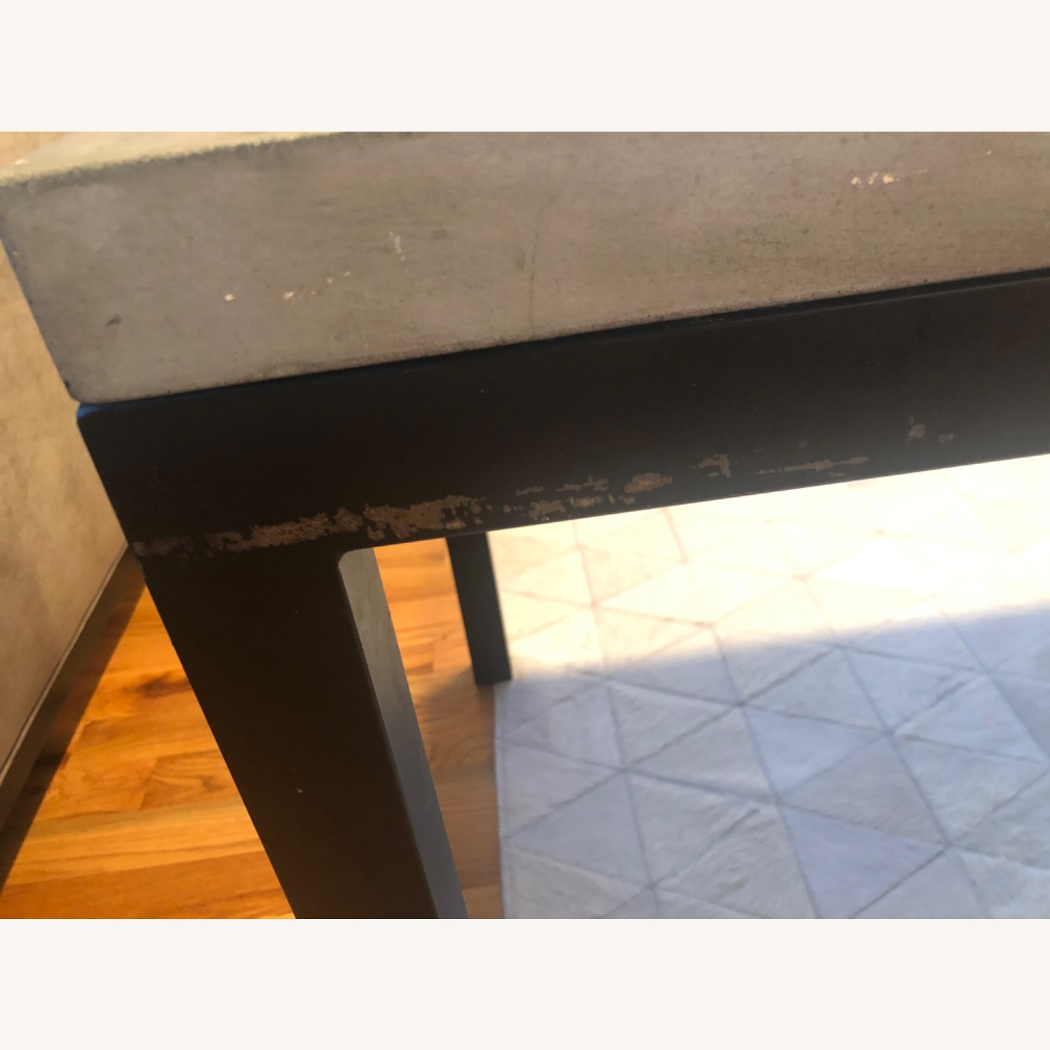 Crate & Barrel 2 Concrete Dining Tables - image-11