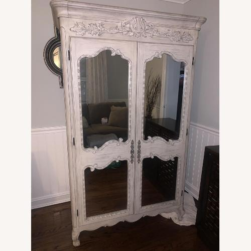 Used Restoration Hardware Adelaide Armoire for sale on AptDeco